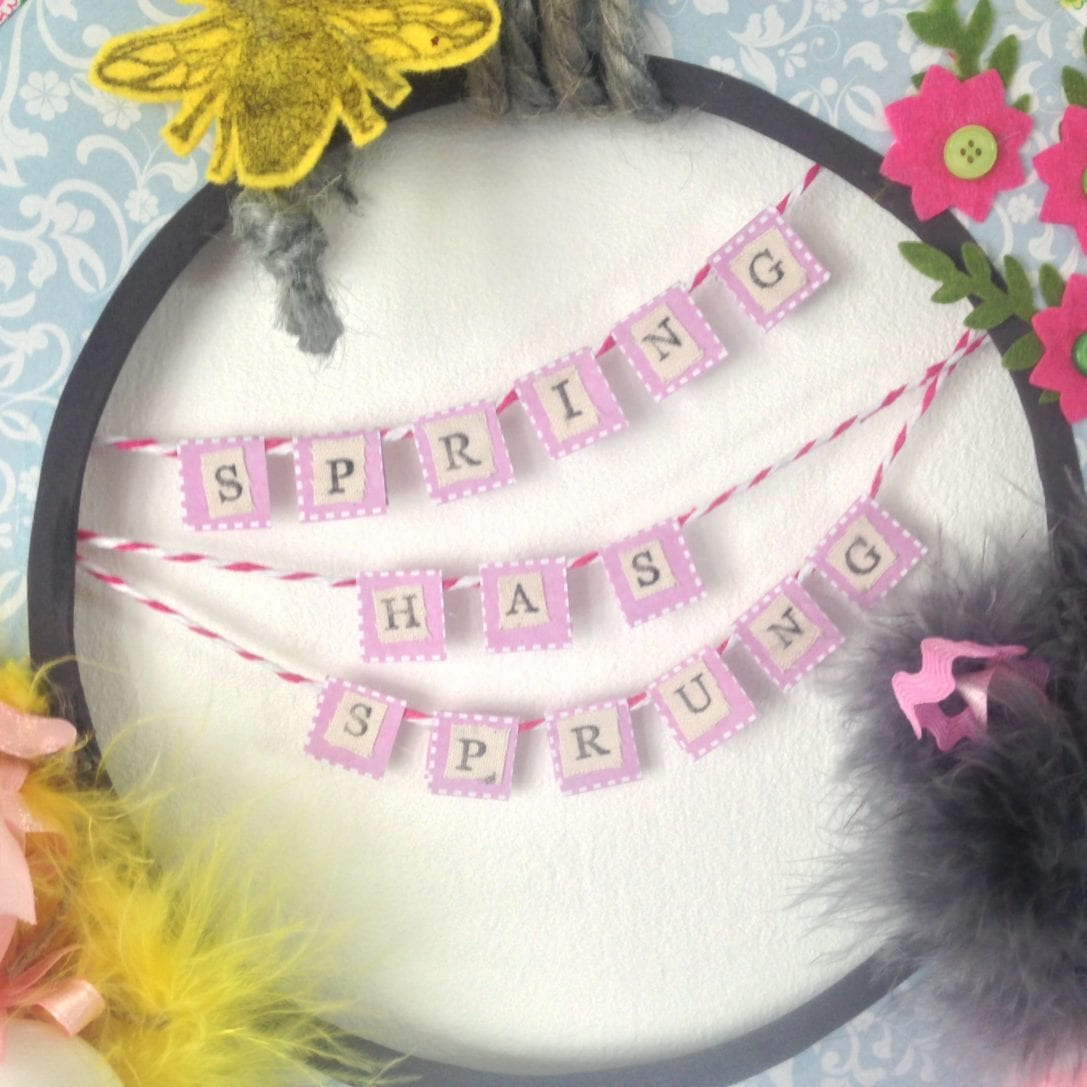 Spring Wreath Craft for health