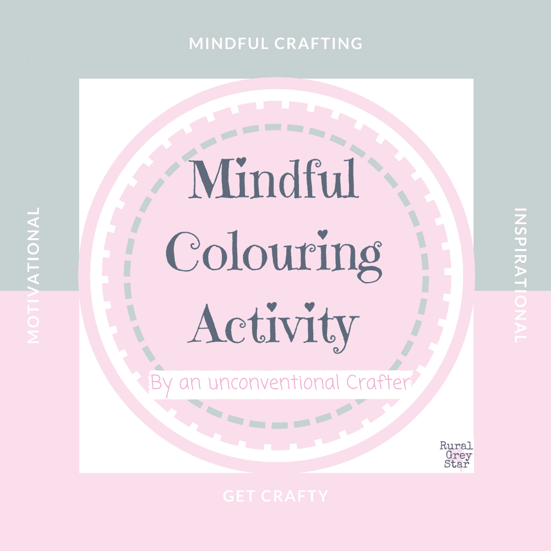mindful colouring activity
