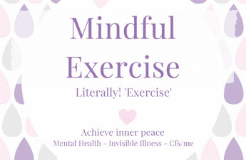 Mindful exercise tips.