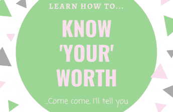 Learn to know your worth | be yourself | depression , anxiety and cfs/me